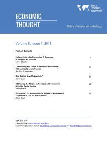 Economic Thought Volume 8, No 1