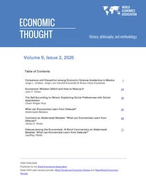 Economic Thought Vol 9 No 2
