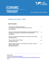 Economic thought Vol 10 Issue 1