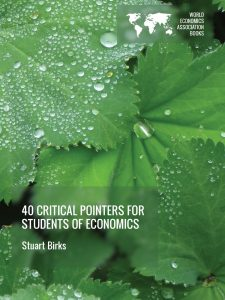 Cover of 40 Critical Pointers for Students of Economics