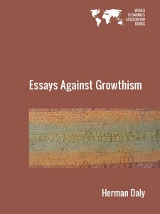Cover of Essays Against Growthism