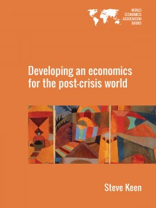 Cover of Developing an economics for the post-crisis world