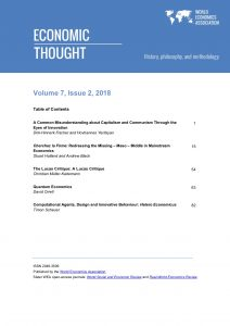 Economic Thought: Volume 7, No 2