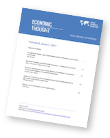 Economic Thought, Volume 6, No 1, 2017