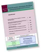WEA commentaries Issue 8, No 3